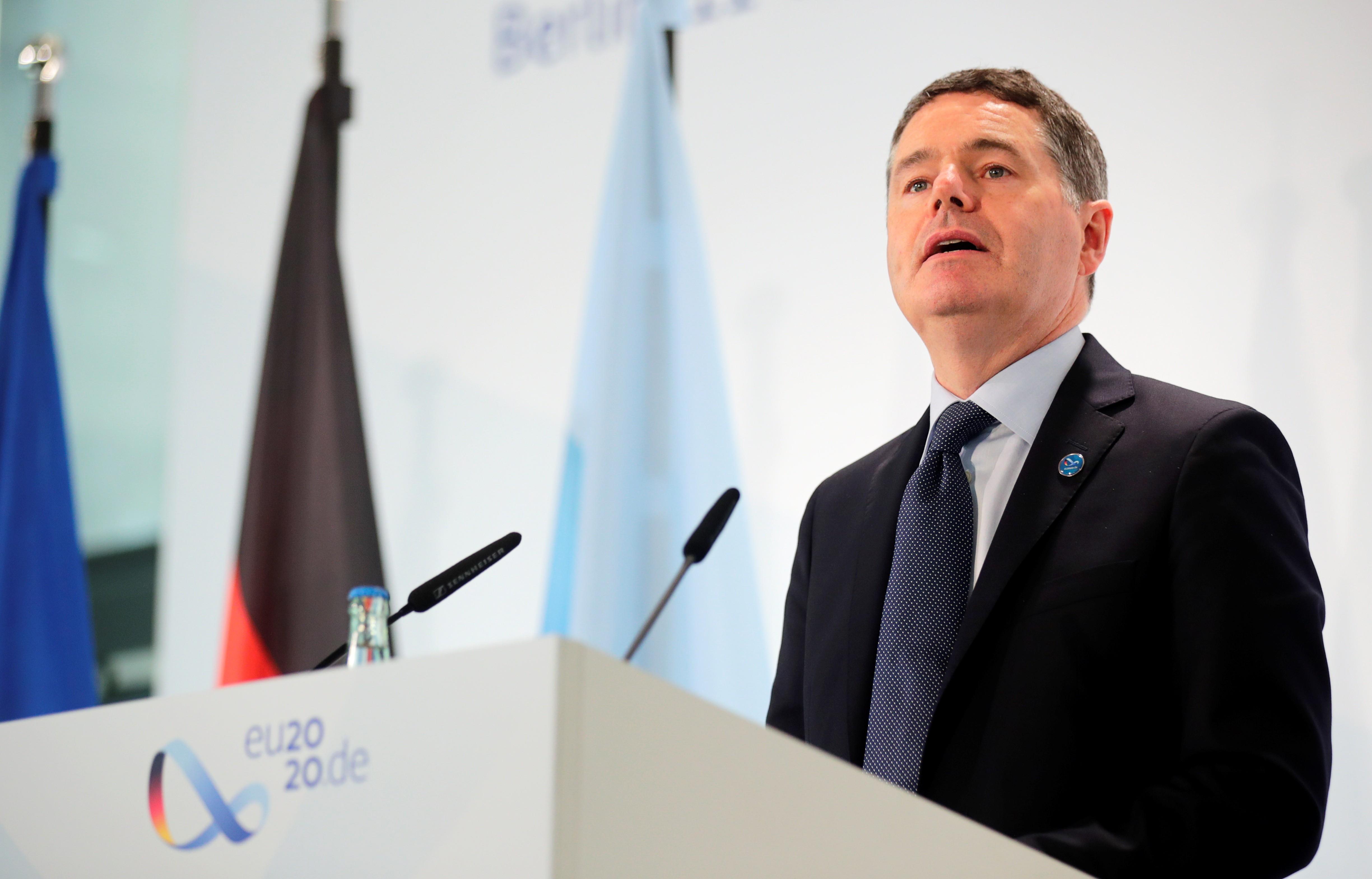 Ministros da zona do euro prometem apoio fiscal contínuo no enfrentamento ao coronavírus