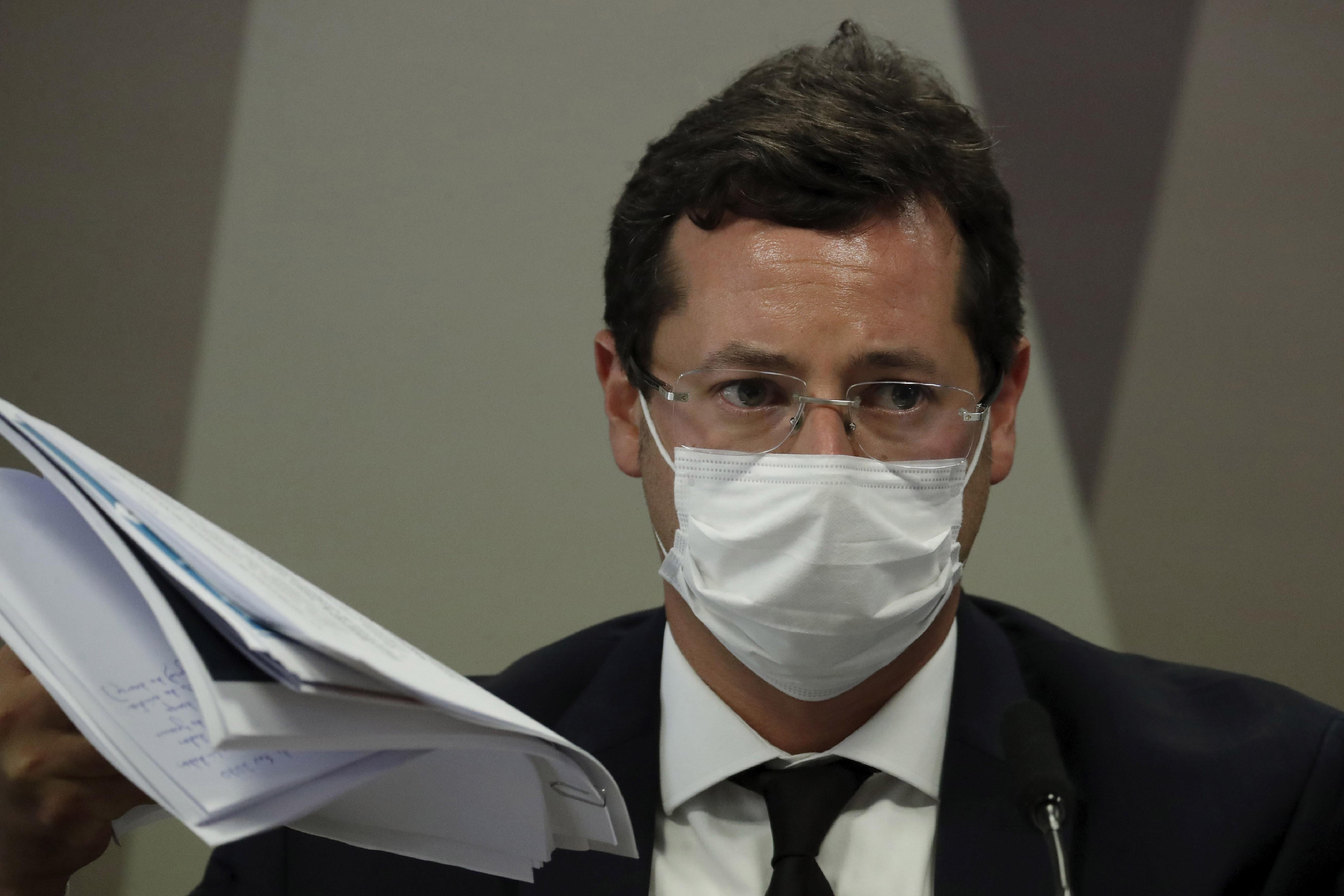 Defesa diz que Wajngarten 'jamais faltou com a verdade' e que ele 'continua à disposição' da CPI