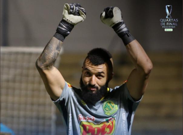 Após empate sem gols, Muralha defende dois pênaltis e leva Mirassol às semifinais do Paulista