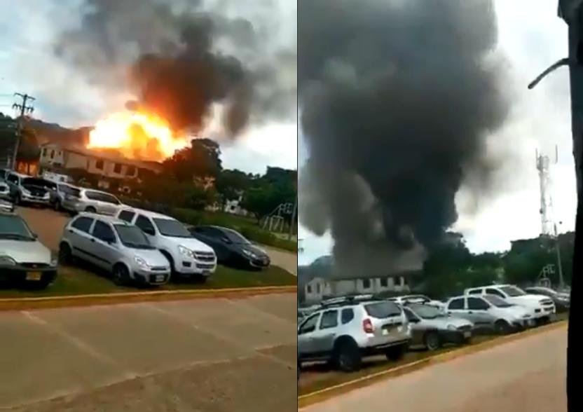 Carro-bomba explode em instalação militar na Colômbia; veja vídeos